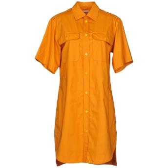 《期間限定セール開催中!》MARNI レディース ミニワンピース&ドレス オレンジ 40 100% コットン