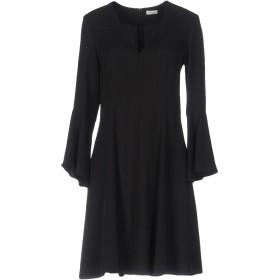《期間限定セール開催中!》GOLD CASE レディース ミニワンピース&ドレス ブラック 44 指定外繊維(テンセル) 100%
