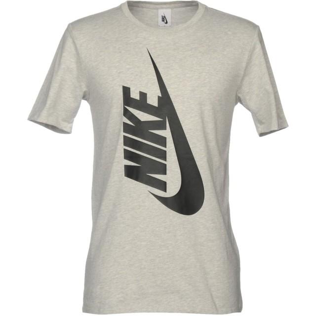 《セール開催中》NIKE メンズ T シャツ ライトグレー XL 100% コットン