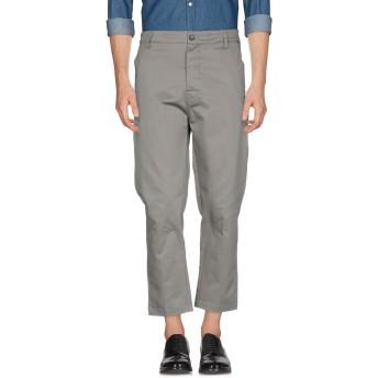 《期間限定 セール開催中》LOW BRAND メンズ パンツ グレー 32 コットン 98% / ポリウレタン 2%