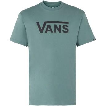 《期間限定セール開催中!》VANS メンズ T シャツ ミリタリーグリーン XL コットン 100% VANS CLASSIC
