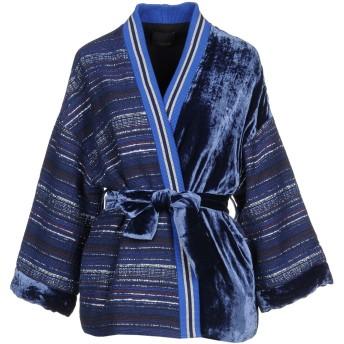 《セール開催中》PINKO レディース ライトコート ブルー M コットン 55% / ポリエステル 39% / 指定外繊維 4% / 金属 2% / シルク