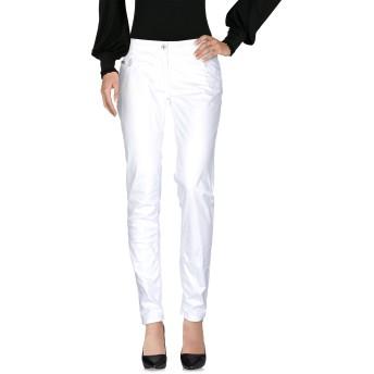 《セール開催中》BLUGIRL BLUMARINE レディース パンツ ホワイト 29 コットン 97% / ポリウレタン 3%