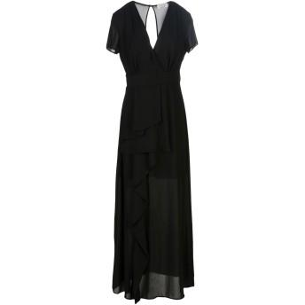 《セール開催中》TWENTY EASY by KAOS レディース ロングワンピース&ドレス ブラック 44 ポリエステル 100%
