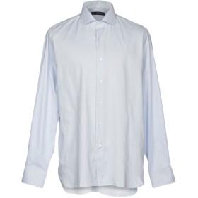 《期間限定 セール開催中》ANDREA MORANDO メンズ シャツ ライトグレー 38 コットン 100%