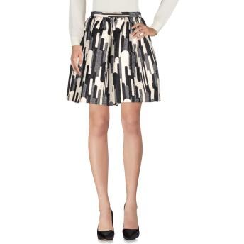 《セール開催中》BLUGIRL BLUMARINE レディース ひざ丈スカート ブラック 40 ポリエステル 60% / コットン 40%