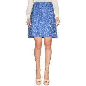 《期間限定セール開催中!》BLUE LES COPAINS レディース ひざ丈スカート パステルブルー 40 ポリエステル 89% / アクリル 11%