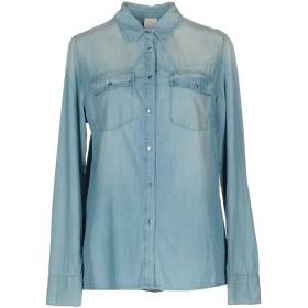 《セール開催中》PINKO レディース デニムシャツ ブルー 40 100% コットン