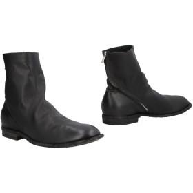 《期間限定セール開催中!》OFFICINE CREATIVE ITALIA メンズ ショートブーツ ブラック 44 革