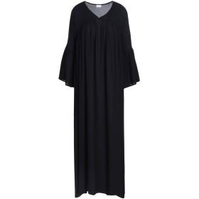 《送料無料》BOME レディース ロングワンピース&ドレス ブラック 2 100% ポリエステル