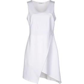 《期間限定 セール開催中》CLI レディース ミニワンピース&ドレス ホワイト 46 レーヨン 65% / ナイロン 30% / ポリウレタン 5%