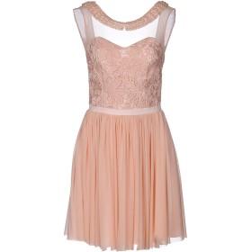 《セール開催中》SOANI レディース ミニワンピース&ドレス ピンク 46 ポリエステル 100% / ポリウレタン
