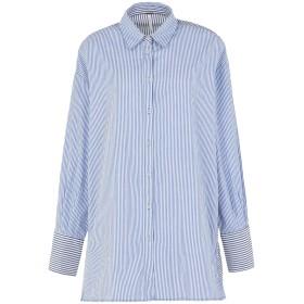 《セール開催中》FREE PEOPLE レディース シャツ ブルー M コットン 100%