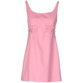 《期間限定セール開催中!》MOSCHINO CHEAP AND CHIC レディース ミニワンピース&ドレス ピンク 40 コットン 97% / 指定外繊維 3%