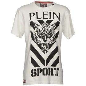 《期間限定 セール開催中》PLEIN SPORT メンズ T シャツ ホワイト S コットン 100%