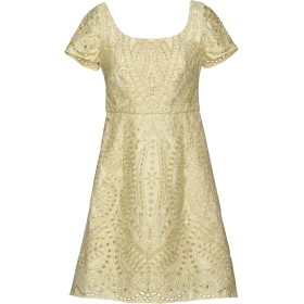 《セール開催中》MARCHESA NOTTE レディース ミニワンピース&ドレス ベージュ 4 ポリエステル 100% / ナイロン