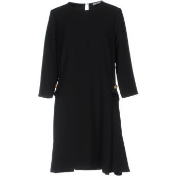 《セール開催中》P.A.R.O.S.H. レディース ミニワンピース&ドレス ブラック S ポリエステル 97% / ポリウレタン 3%