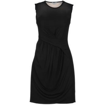 《セール開催中》ISSA レディース ミニワンピース&ドレス ブラック 6 レーヨン 100%