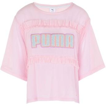 《期間限定セール開催中!》PUMA x SOPHIA WEBSTER レディース T シャツ ピンク 8 ナイロン 84% / ポリウレタン 16% PUMA x SW Tee