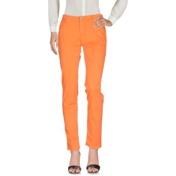 《セール開催中》OAKS レディース パンツ オレンジ 26 コットン 97% / ポリウレタン 3%