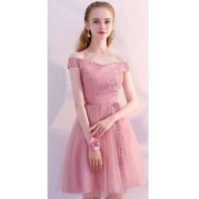 パーティードレス 結婚式 二次会 ワンピース 結婚式 お呼ばれドレス ドレス 結婚式 お呼ばれ 20代 30代 40代 チュール 花柄