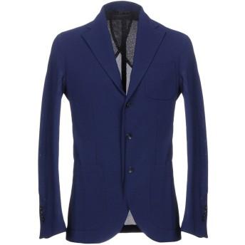 《期間限定セール開催中!》HEV メンズ テーラードジャケット ブルー 50 ポリエステル 100%