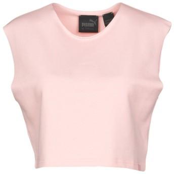 《期間限定セール開催中!》FENTY PUMA by RIHANNA レディース スウェットシャツ ライトピンク M 78% コットン 17% ポリエステル 5% ポリウレタン