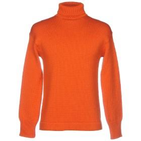 《セール開催中》GRP メンズ タートルネック オレンジ II バージンウール 100%