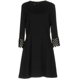 《セール開催中》PINKO レディース ミニワンピース&ドレス ブラック 38 100% ポリエステル