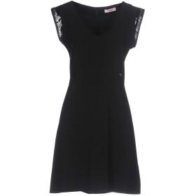 《期間限定セール開催中!》BLUGIRL FOLIES レディース ミニワンピース&ドレス ブラック 40 97% ポリエステル 3% ポリウレタン