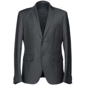 《セール開催中》EGON von FURSTENBERG メンズ テーラードジャケット 鉛色 50 ポリエステル 70% / レーヨン 30%
