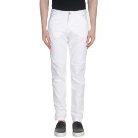 《期間限定 セール開催中》MY PANT'S メンズ パンツ ホワイト S コットン 100%