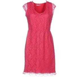 《期間限定セール開催中!》HOPE COLLECTION レディース ミニワンピース&ドレス フューシャ 42 ナイロン 90% / ポリウレタン 10%