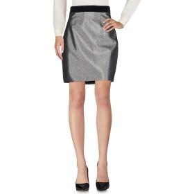 《セール開催中》JUST CAVALLI レディース ひざ丈スカート シルバー 46 59% ポリエステル 22% コットン 13% 金属繊維 6% ポリウレタン