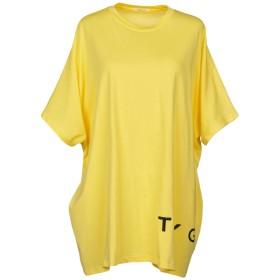 《期間限定 セール開催中》TOY G. レディース T シャツ イエロー one size 100% コットン