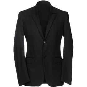 《期間限定セール開催中!》VERSACE COLLECTION メンズ テーラードジャケット ブラック 54 91% ナイロン 9% ポリウレタン