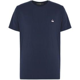 《セール開催中》RVLT/REVOLUTION メンズ T シャツ ダークブルー M コットン 100%
