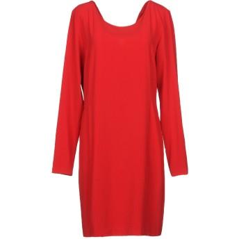 《セール開催中》BLUGIRL BLUMARINE レディース ミニワンピース&ドレス レッド 42 94% ポリエステル 6% ポリウレタン