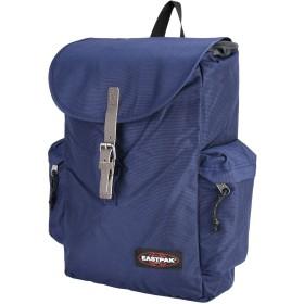 《9/20まで! 限定セール開催中》EASTPAK Unisex バックパック&ヒップバッグ ダークブルー 紡績繊維 革 AUSTIN