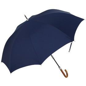 【傘】メンズ長傘 半自動開閉 HAT-1L65-UH(UV加工/超撥水加工) 65cm【色指定不可】