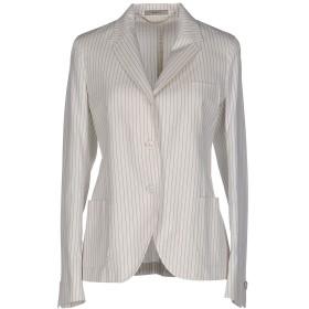 《期間限定セール開催中!》BOGLIOLI レディース テーラードジャケット ホワイト 44 コットン 65% / シルク 35%