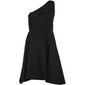 《送料無料》LES COPAINS レディース ミニワンピース&ドレス ブラック 42 65% レーヨン 29% ナイロン 6% ポリウレタン