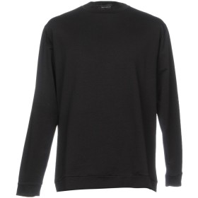 《期間限定 セール開催中》SKILL_OFFICINE メンズ スウェットシャツ ブラック 0 コットン 100%
