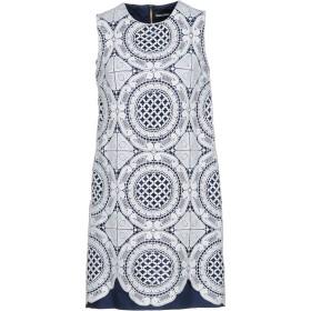 《セール開催中》MARCO BOLOGNA レディース ミニワンピース&ドレス ホワイト 42 96% コットン 4% ポリウレタン