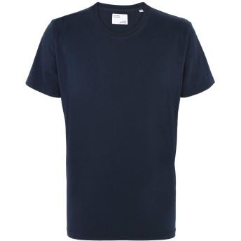 《セール開催中》COLORFUL STANDARD メンズ T シャツ ダークブルー S オーガニックコットン 100%
