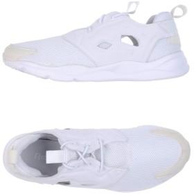 《セール開催中》REEBOK メンズ スニーカー&テニスシューズ(ローカット) ホワイト 5 紡績繊維
