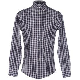 《セール開催中》BROOKS BROTHERS メンズ シャツ ダークブルー L コットン 100%
