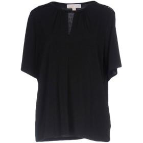 《期間限定セール開催中!》MICHAEL MICHAEL KORS レディース T シャツ ブラック XS ポリエステル 95% / ポリウレタン 5%