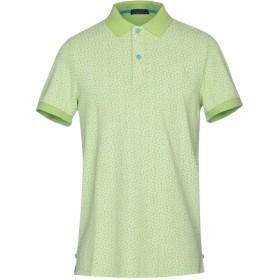 《期間限定セール開催中!》DIMATTIA メンズ ポロシャツ ビタミングリーン S 95% コットン 5% レーヨン