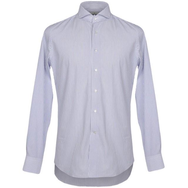 《期間限定セール開催中!》LUXURY 1939 メンズ シャツ ダークブルー 44 コットン 100%